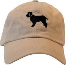 Stone Cockapoo Baseball Cap