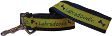 Yellow Labradoodle Leash