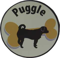 Puggle Magnet