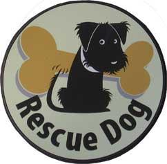 Rescue Dog Magnet