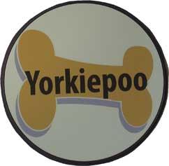 Yorkiepoo Magnet